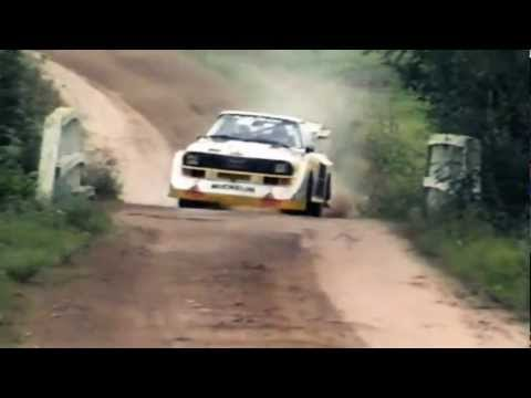 audi quattro s1 at 1000 lakes rally - group b legend