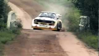 8. INSANE Audi Quattro Sport S1 1000 Lakes Group B Rally (Pure Engine Sound)