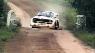 7. INSANE Audi Quattro Sport S1 1000 Lakes Group B Rally (Pure Engine Sound)