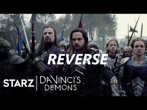 REVERSE VIDEO | Da Vincis Demons | S3 E10