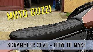 Video Výroba sedla Scrambler - How to make the seat Scrambler - Cafe Racer Moto guzzi V65 Scrambler MP3, 3GP, MP4, WEBM, AVI, FLV Desember 2018