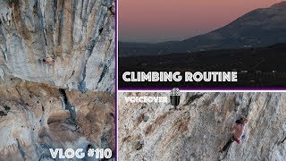 CLIMBING ROUTINE  | VLOG #110 by Magnus Midtbø