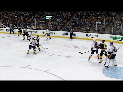 Chara assists on Bergeron goal to hit 600 points