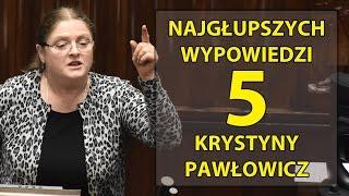 5 najgłupszych wypowiedzi Krystyny Pawłowicz.