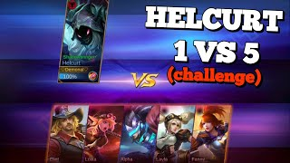 Download Video HELCURT 1 VS 5 AND 100 KILLS CHALLENGE IN CUSTOM MODE | IS HE GOOD ENOUGH ? MOBILE LEGENDS MP3 3GP MP4