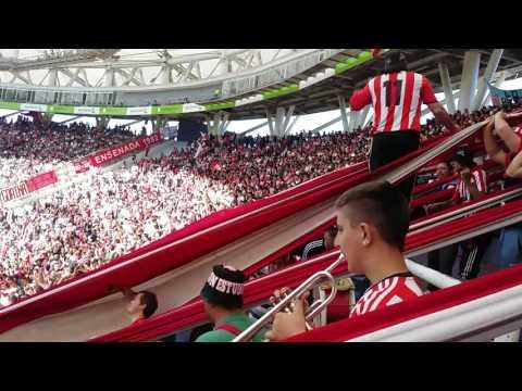 Estudiantes vs Temperley recibimiento - Los Leales - Estudiantes de La Plata