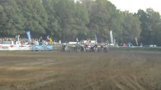 Markelo, EMX Nations Sidecars, start of Race 3