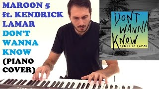 Video Maroon 5 ft. Kendrick Lamar - Don't Wanna Know (Piano Cover ) download in MP3, 3GP, MP4, WEBM, AVI, FLV Mei 2017