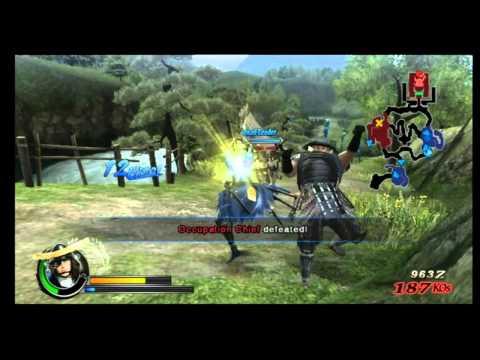 wii sengoku basara samurai heroes pal