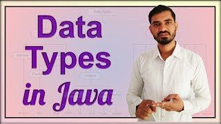 Data Types in Java by Deepak