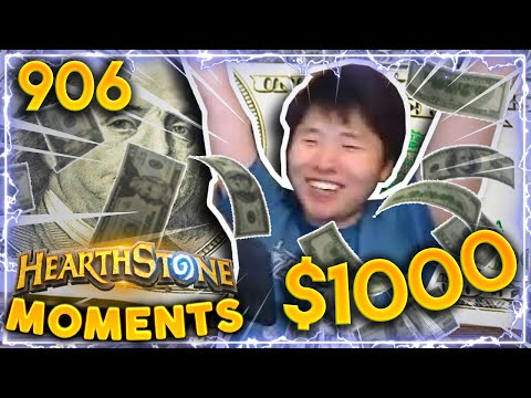 THE $1000 LETHAL | Hearthstone Daily Moments Ep.906