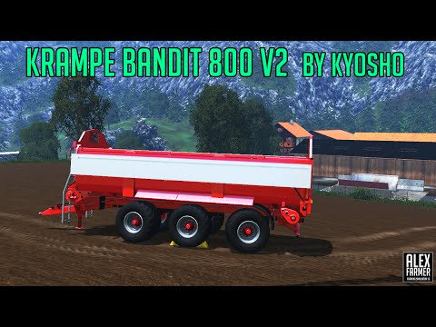 Krampe Bandit 800 v2.0
