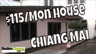 Small Budget Rent $115 House - Chiang Mai