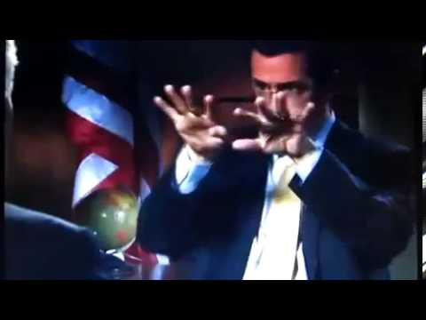 Stephen Colbert does a great explosion impression