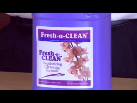 Step 1: How-To use Fresh-N-Clean