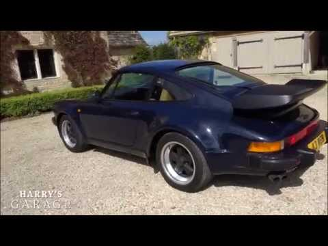 Porsche 911 turbo drive and review. The legendary '80s Porsche 930 (видео)