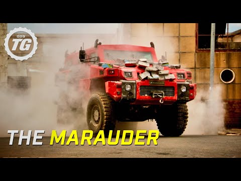 'top - Richard Hammond is in South Africa to test the Marauder - a ten-ton military vehicle so tough it can withstand high explosives. Great HD clip from Series 17 ...