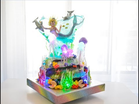 торт русалка / cake mermaid - water-nymph (видео)