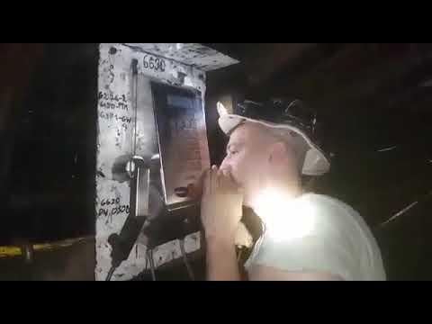 Kontrola trzeźwości w kopalni