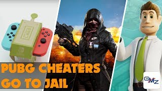 Nintendo Labo + PUBG Cheaters Go to JAIL + Theme Hospital returns...sort of