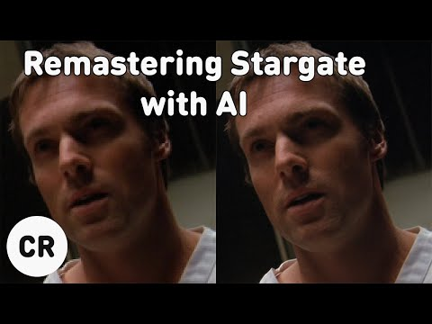 Stargate SG-1 Remastered with AI Upscaling