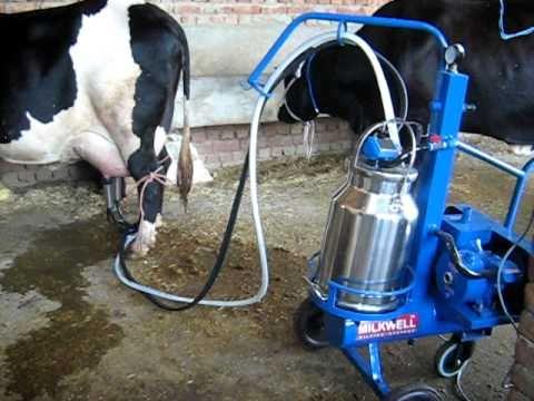 portable milker by milkwell