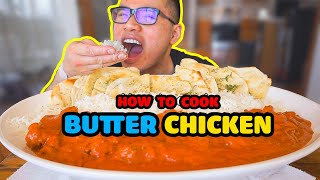 How to cook BUTTER CHICKEN