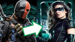 """Deathstroke & NEW Black Canary Suit FIRST LOOK Breakdown! - Arrow Season 6. Arrow 5x23, Arrow 5x23 Ending, Arrow Season 6 Black Siren, Wild Dog, Mr Terrific, Prometheus and Deathstroke!Photo Sources: https://twitter.com/canadagraphshttps://twitter.com/realarizonajakeLike / Share the Video if you enjoyed the video!Subscribe for more Arrow Season 5, The Flash Season 3 and Legends of Tomorrow Season 2!Twitter http://twitter.com/pagmystFacebook: https://www.facebook.com/PageyYTBackground Music used in this video!: https://www.youtube.com/watch?v=WNVNHjs-skc--- Channel Info ---I started my channel to talk about all things related to TV Shows and Movies. I do videos on Movie/TV News, Trailer Commentaries, Movie and TV reviews, and plenty more.Arrow 5x23 """"Lian Yu"""" FINALE Reaction and Review!Arrow 5x23 """"Lian Yu"""" FINALE Reaction and Review!Arrow 5x23 """"Lian Yu"""" FINALE Reaction and Review!Arrow 5x23 Review!Arrow 5x23 Review!Arrow 5x23 Review!Arrow 5x23 ReviewArrow 5x23 ReactionArrow 5x23 TrailerArrow Season 5 Episode 23 Trailer"""