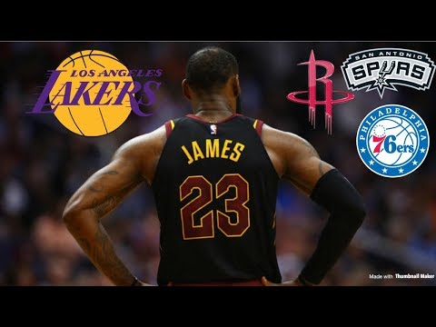 Lakers Top Team to Land LeBron James in Free Agency   NBA Free Agency 2018