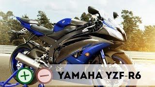 9. Yamaha YZF-R6 Плю�ы и Мину�ы