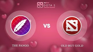 The Pango vs Old but Gold - RU @Map3 | Dota 2 Valentine Madness | WePlay!