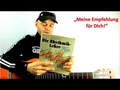Gitarre lernen - Rhythmus spielen auf der Gitarre + Tip