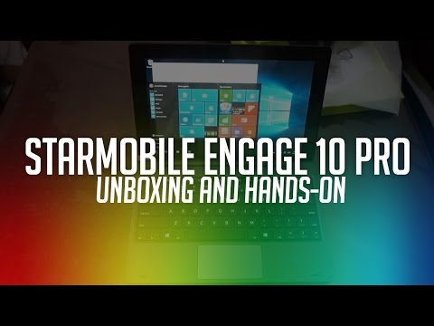 Starmobile Engage 10 Pro Unboxing and Initial Review