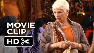 The Second Best Exotic Marigold Hotel Movie CLIP - Flea Market (2015) - Judi Dench Movie HD