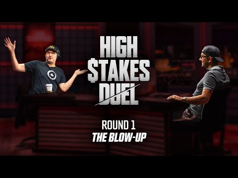 Antonio Esfandiari Challenges Phil Hellmuth to a Taser Fight | High Stakes Duel