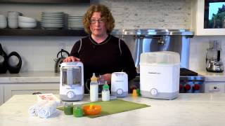 Baby Food Storage Containers Demo Video Icon