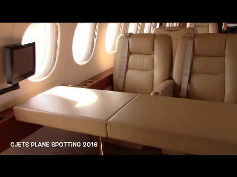 Tour Of A Beautiful Dassault Falcon At Ybr