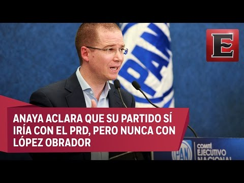PAN descarta una alianza con Morena en Edomex