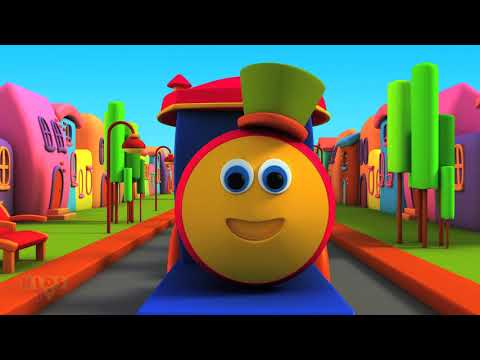 Bob, The Train - Alphabet Adventure | ABC Song | Preschool