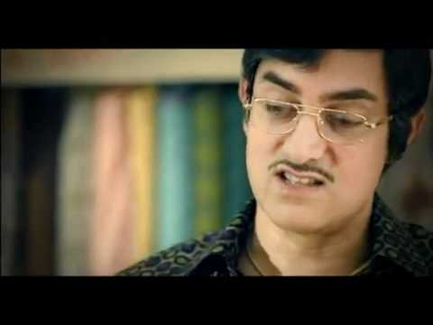 Funny Bollywood Indian Commercial ads Tata Sky Aamir salesman