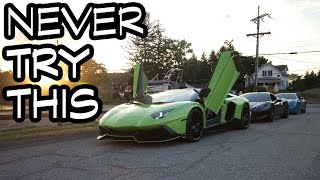 NEVER TRY THIS IN A LAMBORGHINI!! by Evan Shanks