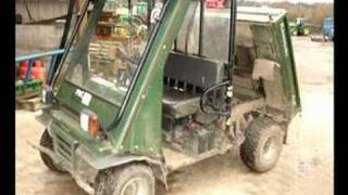 8. Kawasaki Mule diesel 4x4 for sale