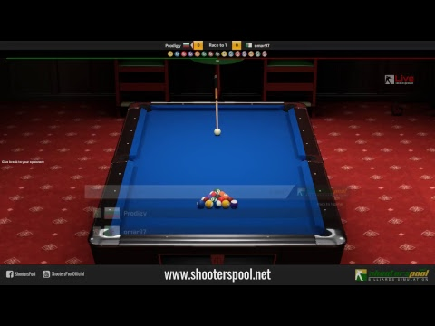 9 Ball Match Race to 5 Games | Online Gameplay | ShootersPool - Billiards Simulation