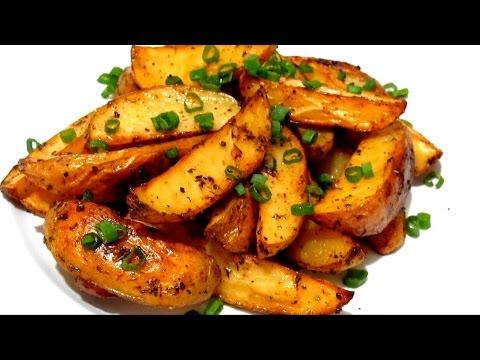 Картошка с курицей по деревенски в духовке рецепт