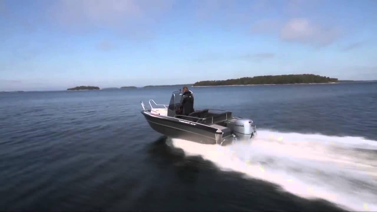 Катер из алюминия Faster 525 CC | Катер для рыбалки, прогулок, профессионального использования