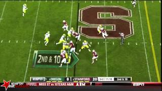 Ed Reynolds vs Oregon (2013)