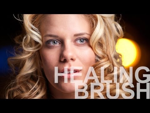 The Healing Brush - Photoshop CS6 Tutorial