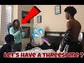 LET'S HAVE A THREESOME PRANK ON IAM JUST AIRI !!!