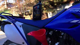 1. 2013 Yamaha TT-R230 Oil Change (with owners manual PDFs)
