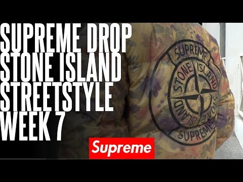 SUPREME X STONE ISLAND #SS17 - VOTEZ POUR LE MEILLEUR STREESTYLE MÉNNÉS !